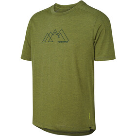 IXS Flow Tech MNT Graphic SS Tee Kids, olive